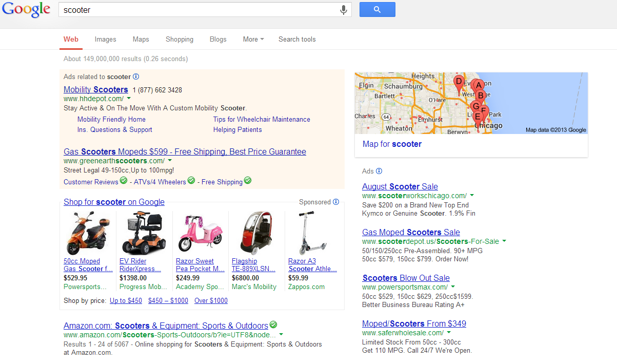 Google's Product Listing Ads